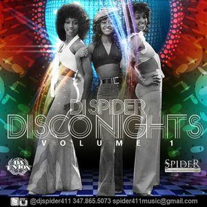 DJ SPIDER DISCO NIGHTS VOL 1
