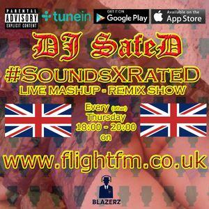 DJ SafeD - #SoundsXrateD Show - Flight FM - 19-09-19