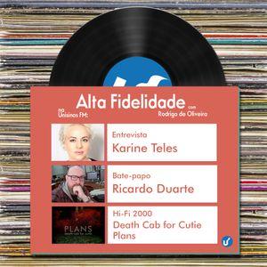 Alta Fidelidade | 28.08.2015 | Entrevista com Karine Teles