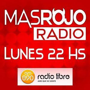 MasRojoRadio  - Emisión Lunes 27-7-15