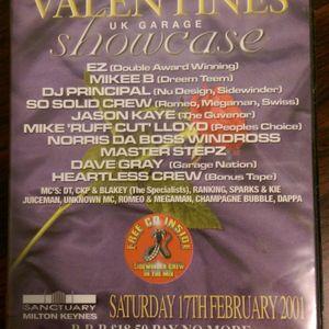 Club Sidewinder Valentines UK Garage Showcase -17-02-2001 - Jason Kaye B2B Dave Gray