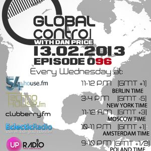 Dan Price - Global Control Episode 096 (13.02.13)