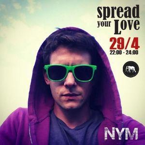 Nym - Spread Your Love Mixtape (29/04/13)