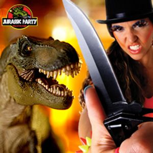 CAROLES - Jurassic Low BPM (live at Jurassic Party 4 - 20jan2013 )
