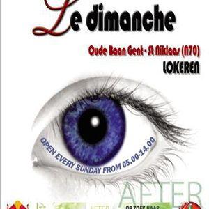 Live@LeDimanche Dj pedro 03/08/2007