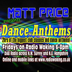 Dance Anthems with Matt Price on Radio Woking, 5th January 2018