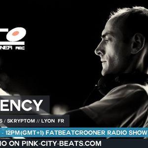 D'JAMENCY_FATBEATCROONER RADIO SHOW @ PINK CITY BEATS RADIO_2015