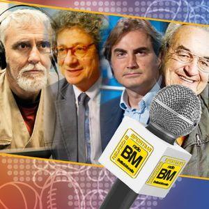 Omaggio a Totti: Bruno Pizzul, Pierluigi Pardo, Riccardo Cucchi e Francesco Repice