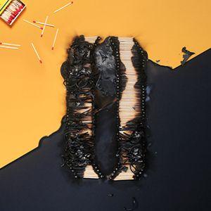 O.M.D - Smoke:Black/Amber mix