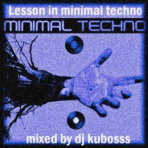 Lesson in minimal techno