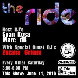 zuzana grimm @ The Ride EP 9 - June 11 2016