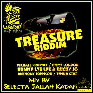 "Lobotomy Sound & Selecta Jallah Kadafi "" Treasure Riddim 2015 One Love Music "" New Roots Reggae."
