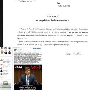 Duda wezwany do Białego Domu na dywanik HEAD M21 Panama-Pampers-Poland PDO314 20190909 ME SOWA