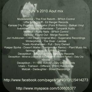 5yN 2010 Aout mix