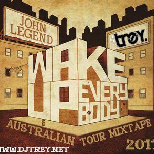 John Legend: Wake Up Everybody - Mixed By Dj Trey