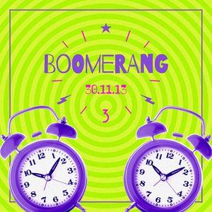 BOOMERANG! | 30.11.13 | Mixtape #02