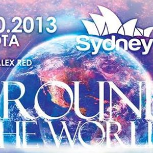 ALEX RED - Around The World (Style- Holland) - 12.10.2013 - Sydney Club