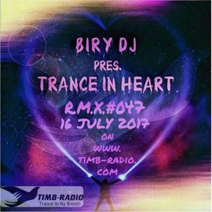 TRANCE IN HEART #47 16-07-17