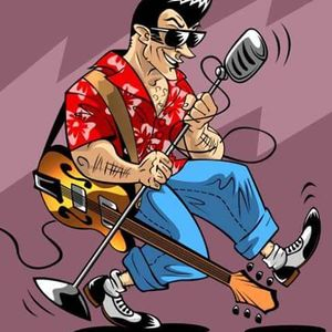 ROCK N ROLL , DOOWOP, ROCKABILLY, GOOD OLD 50`s ROCK N ROLL MUSIC , LIVE RECORDING FROM ROCKIN ROB