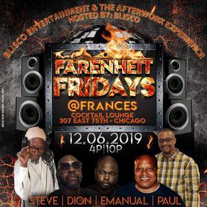A Night @ Frances' Lounge-Farenhiet Fridays - 6 December 2019