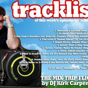 The Mix Trip Flight boarding pass 18/2011 by DJ Kirk Carpenter