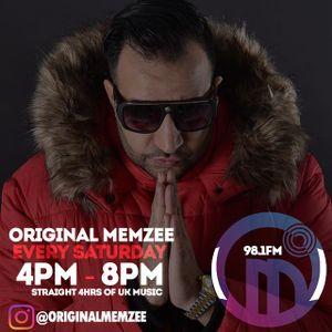 ORIGINAL MEMZEE #UK2THEWORLD MYSTICRADIOLIVE.NET 4-8pm 04/03/2017 4 hrs of UK Music