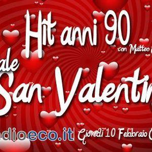 Hit anni 90 in Love - La puntata dei piccioncini! Dediche peace&love!