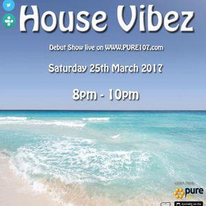 DJ Tippa Presents - House Vibez Live On Pure Pure 107 25.03.2017