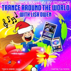 Storm4ce ॐ Trance Around The World * Guest Mix 2 * Trance Energy Radio 11/12/2016