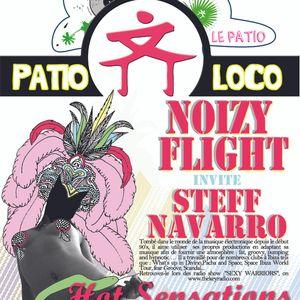 NOIZYFLIGHT & STEFF NAVARRO @ HOT Sensations (Patio loco-Villa rouge) 05/05/2012 part1