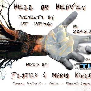 Hardtechno Musik @ Hell or Heaven 19 mixed by Flotek & Mario Kinle