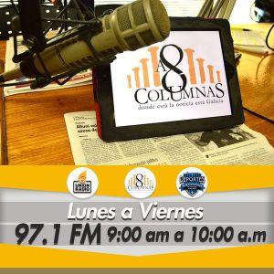 A 8 Columnas Radio 23-05-2016 1/2 La Noticia de Hoy + Deportes