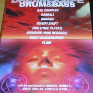 Randall with Shabba, Foxy, Mystery & 5ive-0 at Dreamscape Drum and Bass (Oct 2000)