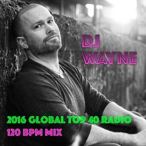 2016 Global Radio Top 40 EDM Mix (EDM, Dance, & Hip Hop) (120 bpm)