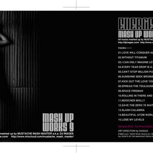 Mash up works 9 by Mustache Mash Master Aug. 2012