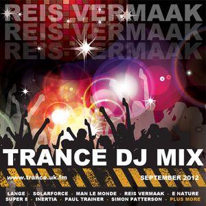 Reis Vermaak - Trance Mix - September 2012