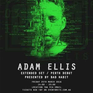 Prog Warm Up set for Adam Ellis @ Bad Habit  25/3/16