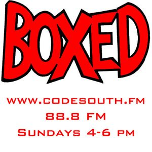 DarrylBoxed live on www.codesouth.fm 4-6pm 24/02/13