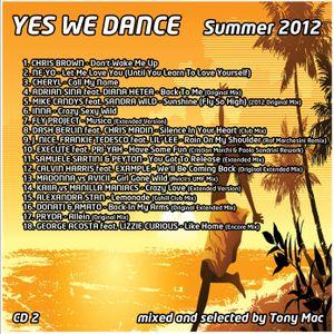 YES WE DANCE Summer 2012 CD2