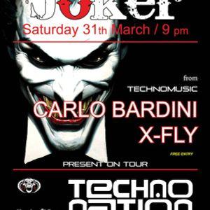 DJ X-FLY @ TECHNO NATION JOKER 31-03-2012 EARLY HARDCORE