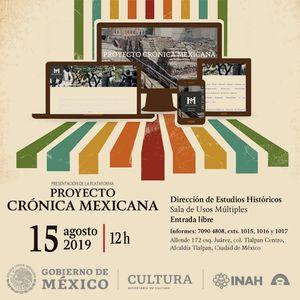 Promocional Somos Nuestra Memoria. Proyecto Crónica Mexicana