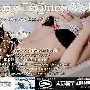 Pencho Tod ( DJ Energy- BG ) - Energy Trance Vol 185
