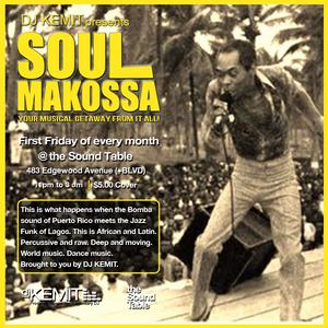 DJ Kemit presents Soul Makossa August 2016 Promo Mix