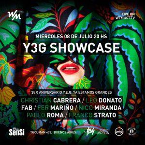 WM Streaming 03/07/2014 pres. Y.E.G. 3rd Anniversary @ The Sensi Bar Fab & Pablo Roma