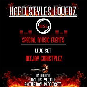 Deejay Christylez - Hard Styles Loverz - Hardstyle.nu - Saturday 09 June 2012
