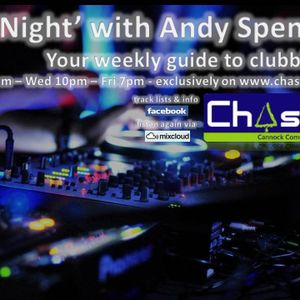 At Night with Andy Spencer - Show 34 - Sat 16th Feb 2013.