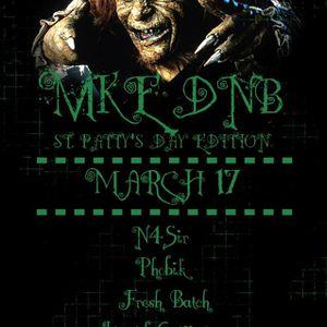 MKE DNB  St. Patrick's Day 17.03.16