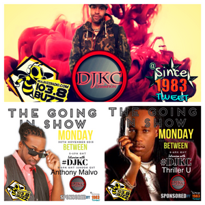 Interview Reggae artists Anthony Malvo and Thriller U On THE GOING IN SHOW 30 11 2016
