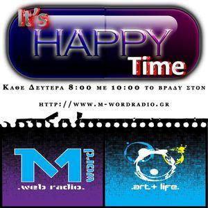 15 12 2014 It's Happy Time Πάνος & Λίνα κάθε Δευτέρα 8-10μμ @M-Word Web Radio