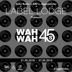 Wah Wah 45s with Scrimshire + Dom Servini (25/05/2018)